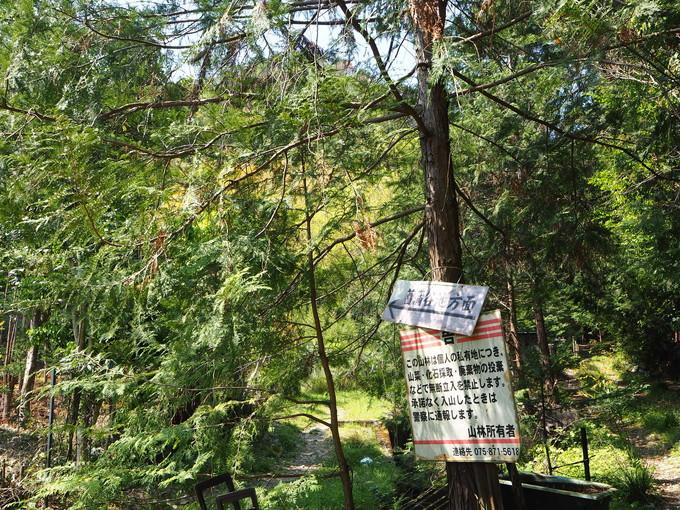 ハイキングルート2 直指庵から京見峠経由