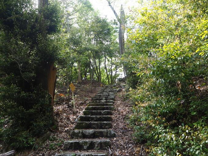 ハイキングルート1 後宇多天皇陵・長刀坂から