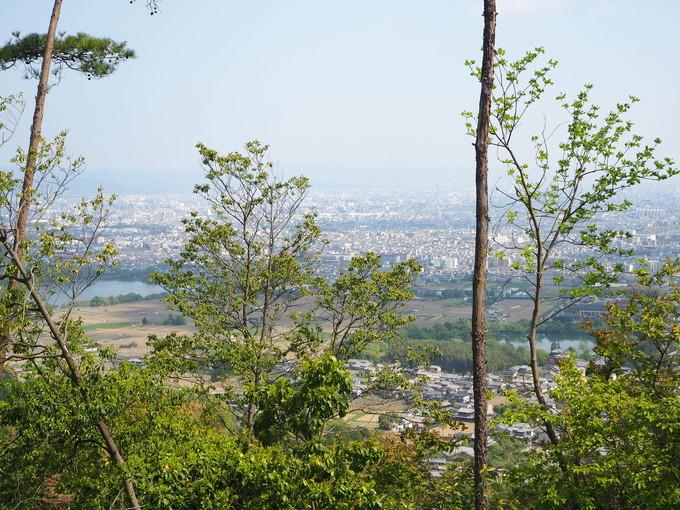 ハイキングルート3 嵯峨天皇陵参道から京見峠経由