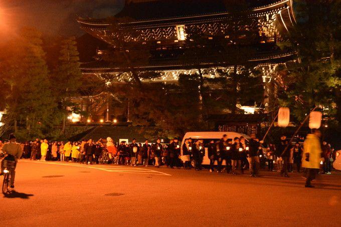 いろいろなイベントも催される「東山花灯路」