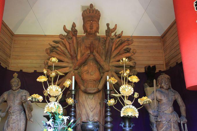 仏像すきなら絶対に外せない!菊蓮寺、圧巻の千手観音立像!