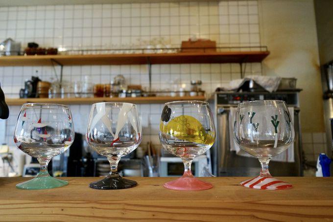 反則のかわいさ!Subikiawa食器店のグラスを使ったパフェ!