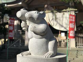 横浜「戸部杉山神社」狛ねずみや子年限定御朱印にもチュウ目!