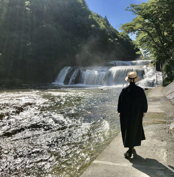 『ラストレター』ロケ地「滑津大滝」で広瀬すず気分?