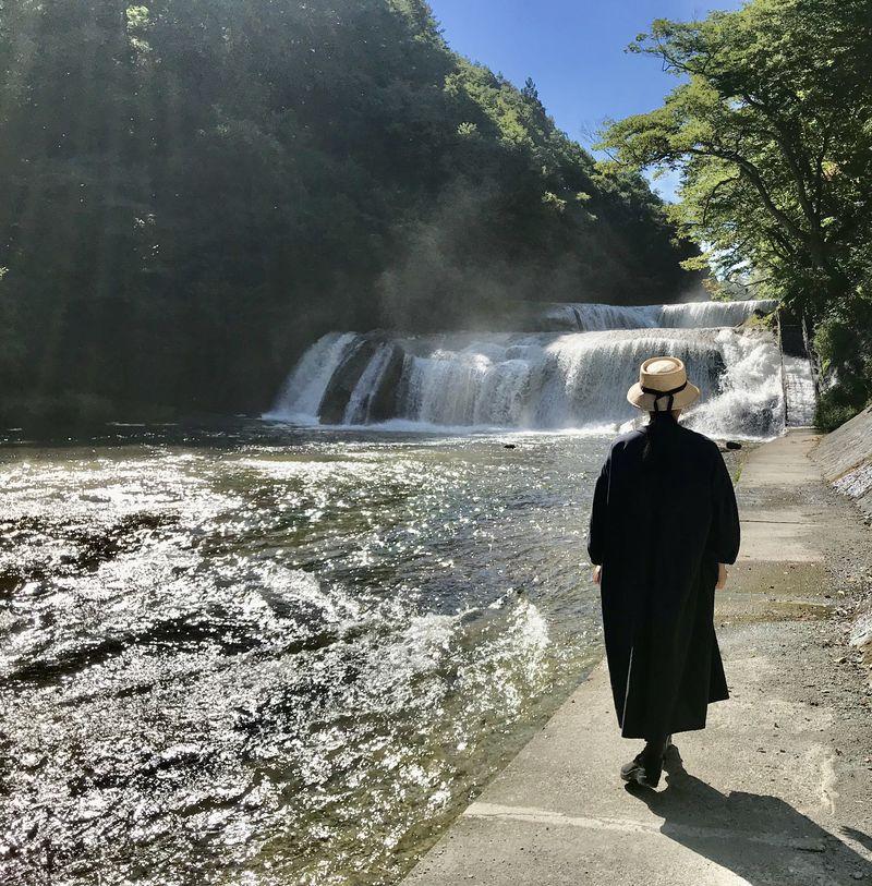 『ラストレター』ロケ地で話題!宮城県七ヶ宿「滑津大滝」