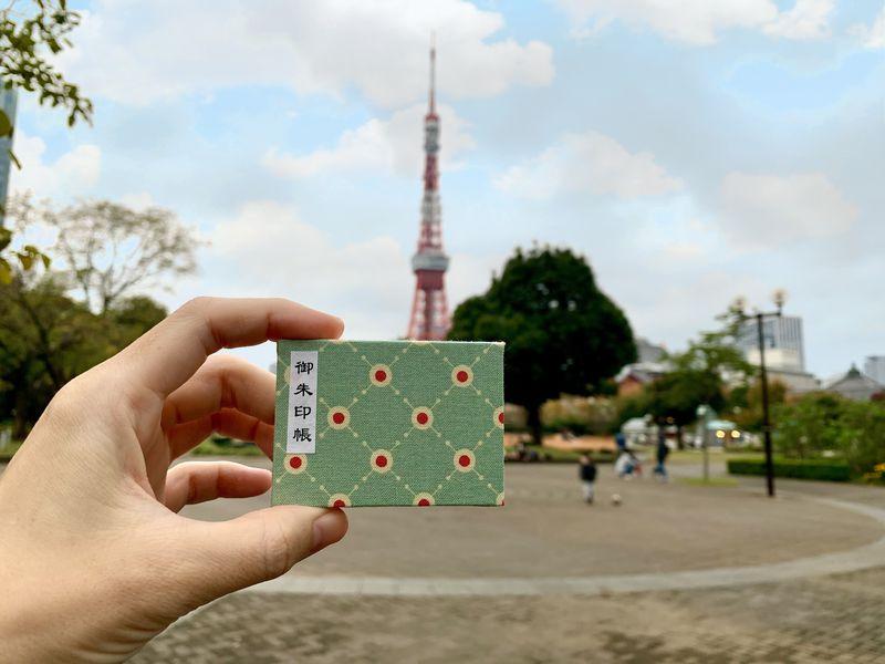 ミニ御朱印帳が大人気!東京タワーの下のオアシス「宝珠院」