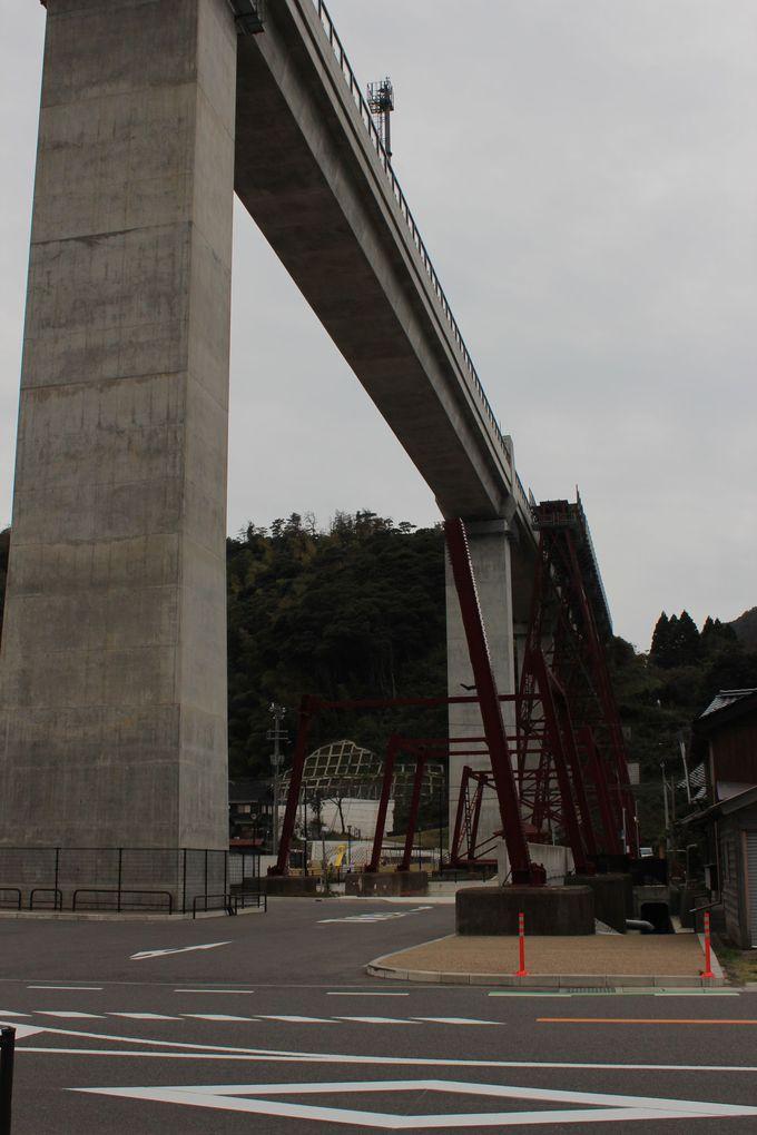 余部鉄橋が新橋梁へ!展望施設「空の駅」にも上ってみよう