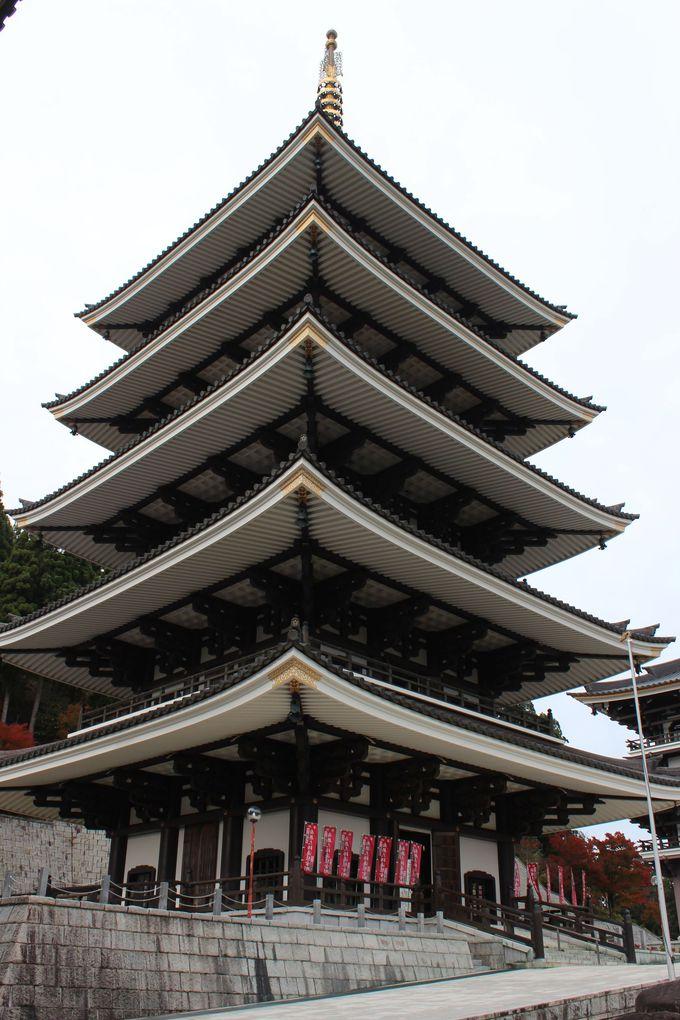 五重塔や大仏殿も圧巻のスケール