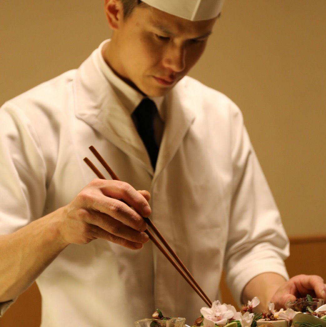 若手凄腕料理長の料理もすごい!