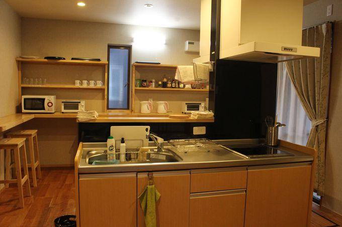機能性の高いキッチンやリビングも広々