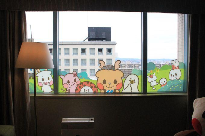 鹿キャラクター「ROKU」の世界を満喫