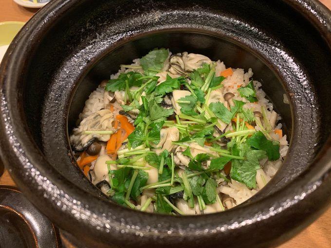 本格和食で牡蠣を味わうなら「創作Dining杏」