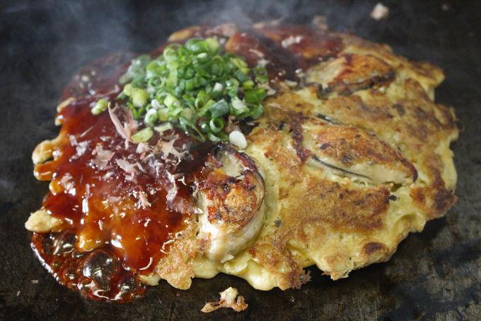 牡蠣入りの粉もん・鉄板料理ならおまかせ「みなと屋」