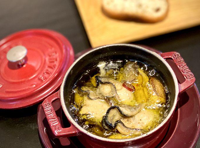 多彩な牡蠣料理が食べられる多国籍料理居酒屋「煉瓦屋R」