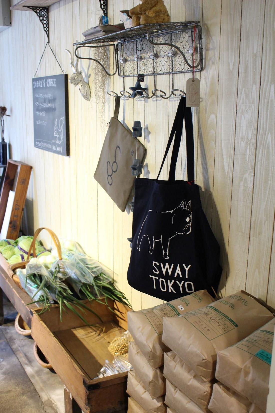 のんき畑の野菜を使ったカフェメニューが人気