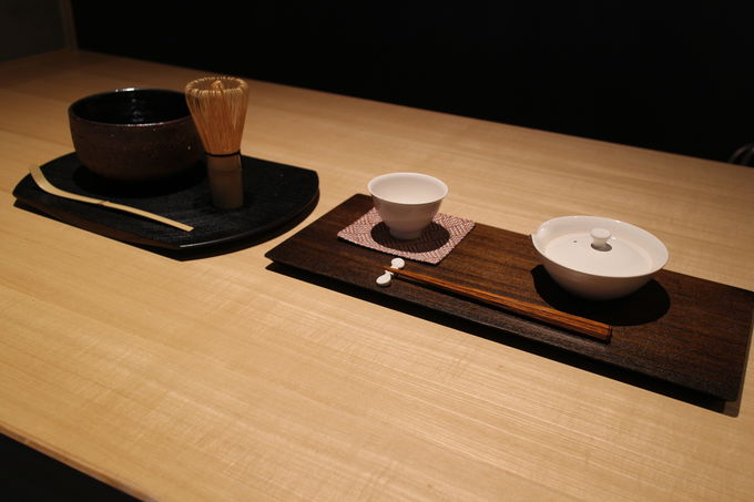 「現代の茶会」をコンセプトにした「TEA&BAR」