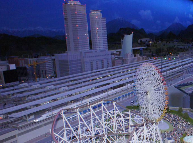 日本最大面積の「鉄道ジオラマ」
