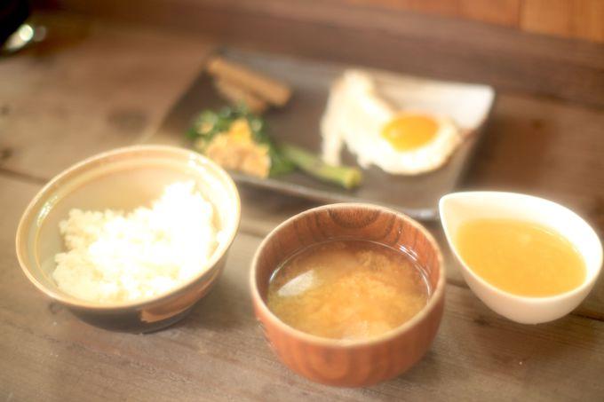 体にやさしさを!「つきのわ食堂で朝ご飯」
