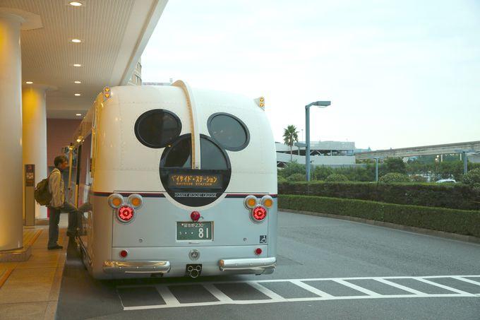 これも幸せ!東京ベイ舞浜ホテルクラブリゾートまでの送迎バスが充実
