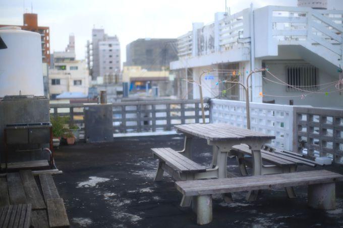 柏屋の屋上は、最高の癒しスポット♪