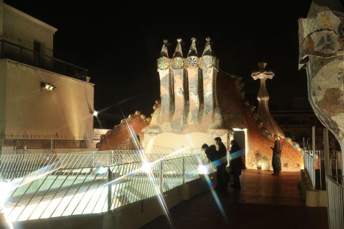 カサ・バトリョから眺めるバルセロナは格別!
