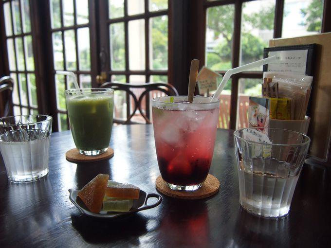 橦木館カフェ