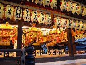 祇園祭の主役は三基の神輿!「神幸祭」と「還幸祭」の勇壮な神輿渡御は必見