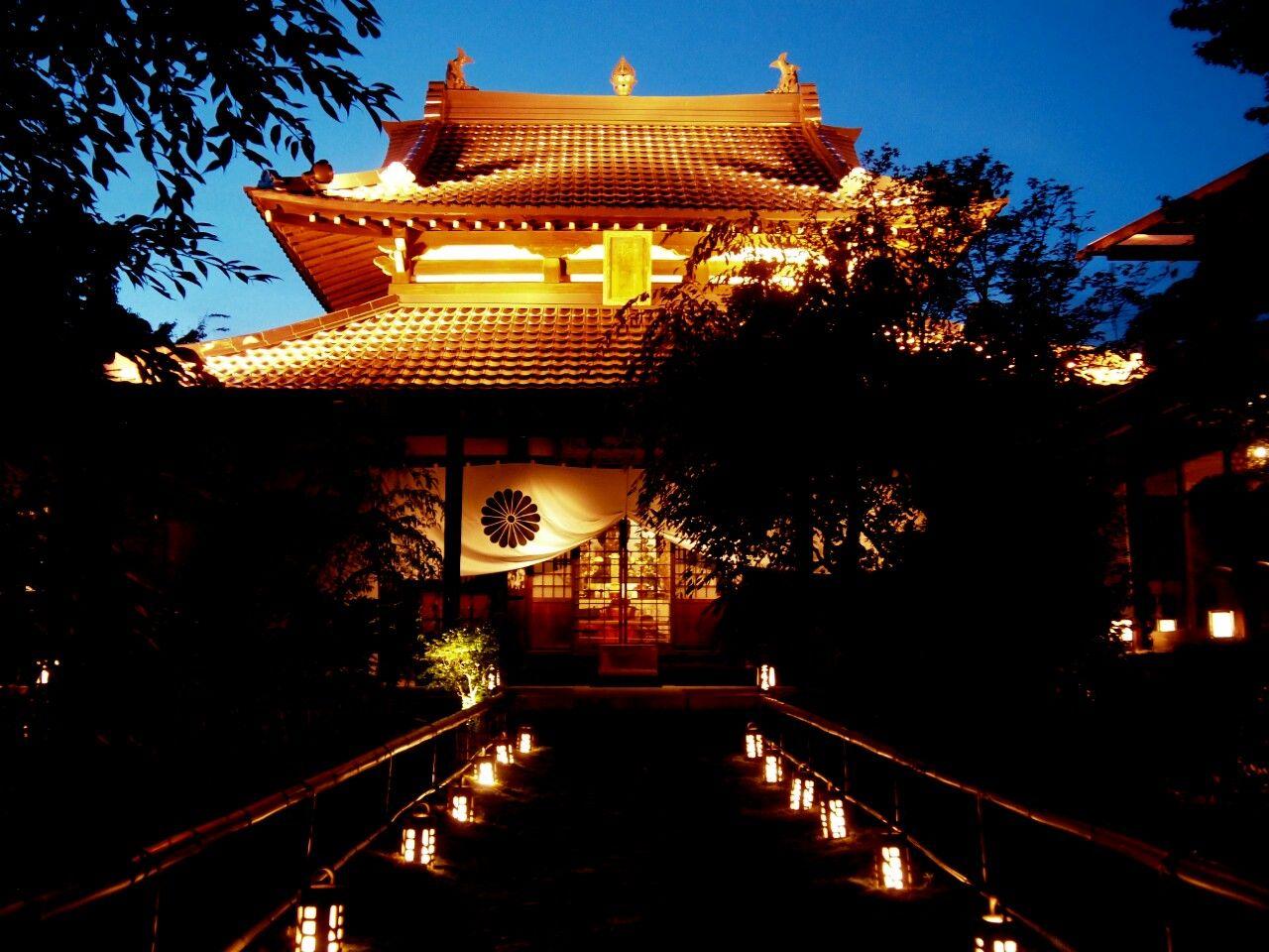 年間通して毎日ライトアップ!料理も楽しめる京都・閑臥庵の美しい庭園