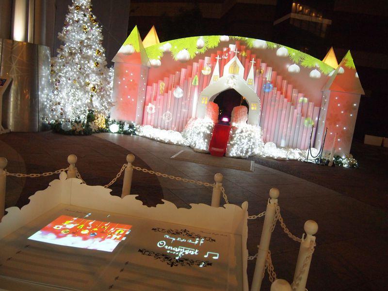参加型イルミ!キャナルシティ博多「キャナルみらいクリスマス」