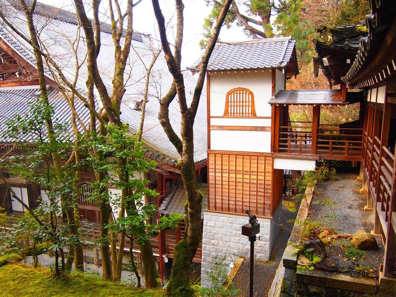 京都・永観堂のおもてなし!エレベーターと臥龍廊の曲線美!