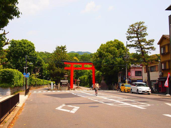 京都大学正門前から吉田神社へ!