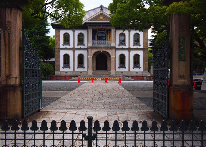 大宮キャンパスのシンボル・本館