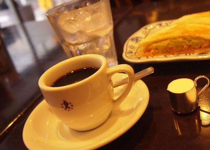 お得なモーニング&名物アイスコーヒー
