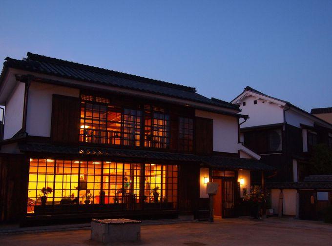 夜も素敵な「倉敷物語館」