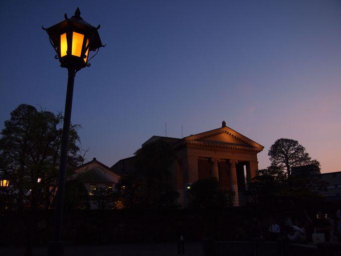 大原美術館ライトアップ