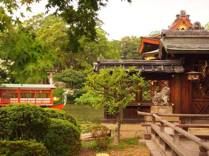 歴史ロマン香る神泉苑