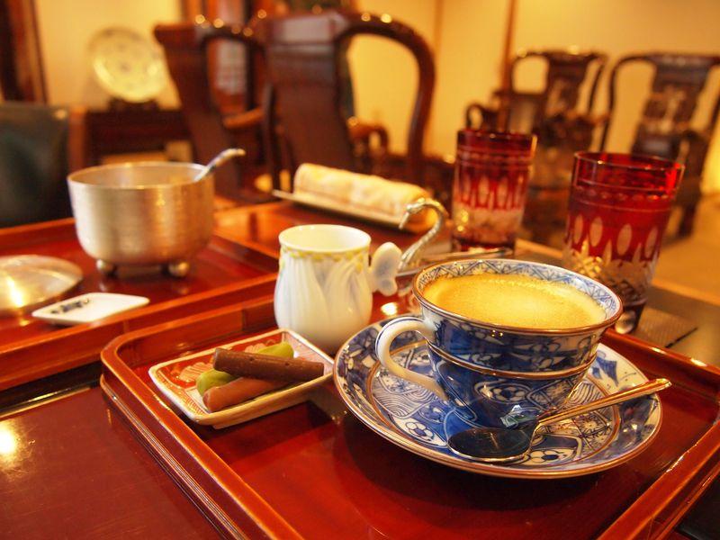 お辨當箱博物館にカフェもある!京都「半兵衛麸本店」