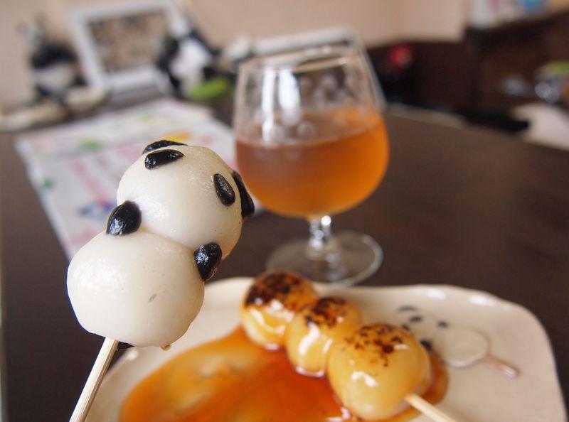 可愛すぎて食べられない!?京都・ぱんだの散歩「ぱんだんご」