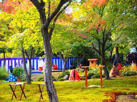 まさに平安絵巻!京都・城南宮「曲水の宴」と美しい初秋の庭