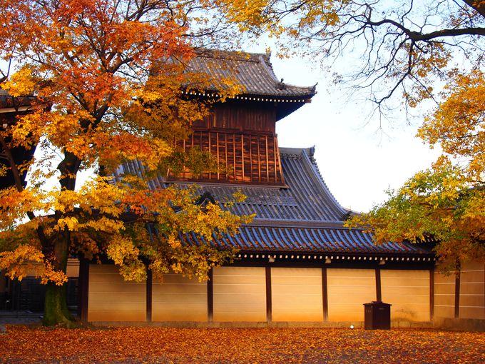 秋の太鼓楼も美しい