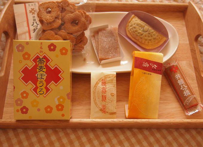 1F井筒八ッ橋本舗・祇園本店のお菓子