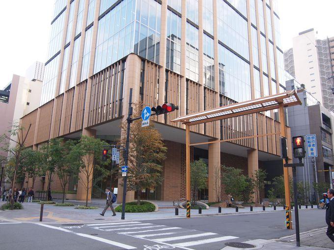 道修町ミュージアムストリート・田辺三菱製薬本社ビル
