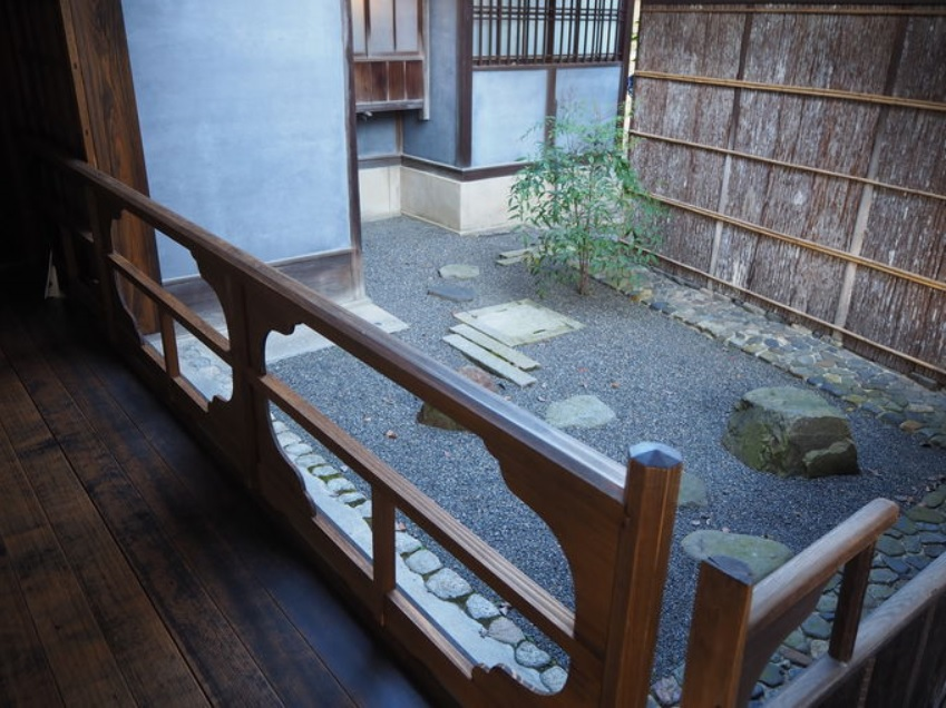 旧三井下鴨別邸内の見どころ