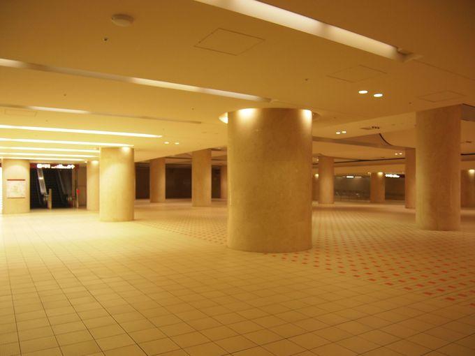 地上だけにあらず!金沢駅