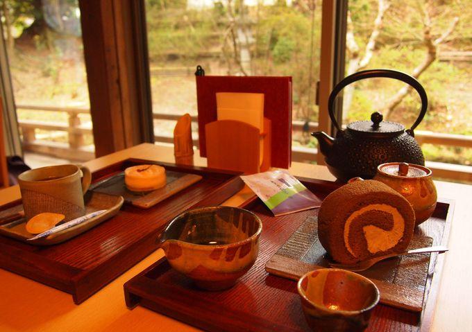 近江の特産朝宮茶とスイーツ
