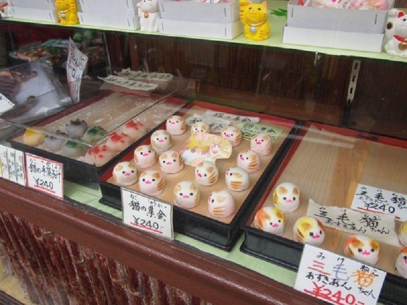 「とらや」の可愛いすぎる猫の和菓子