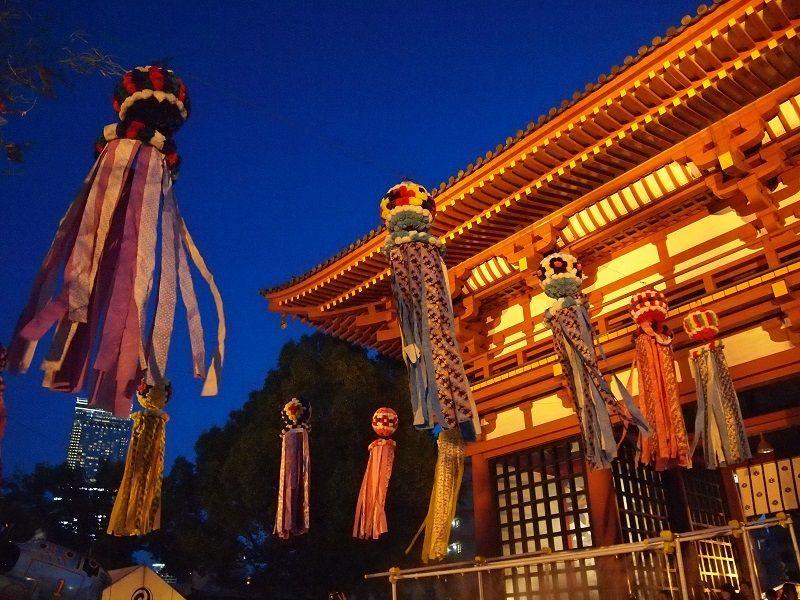 悠久の時を越えた光景!大阪・四天王寺「七夕のゆうべ」
