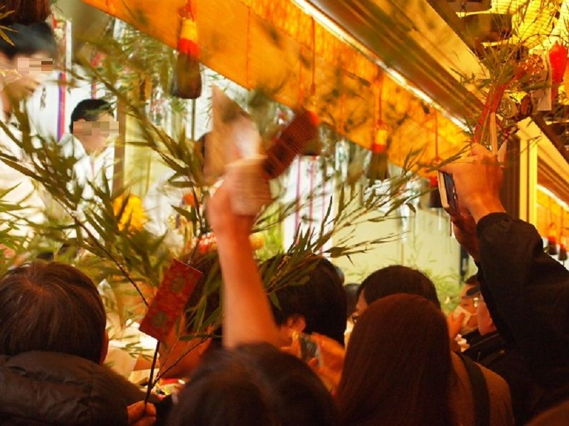 商売繁盛で笹持って来い!京都ゑびす神社「十日ゑびす大祭」