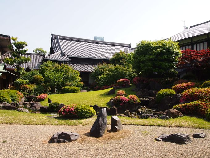 湯屋方丈と補陀楽の庭