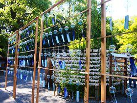 名水と風鈴の涼景色!大阪府島本町「水無瀬神宮」
